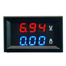 Dual LED DC Digital Display Ammeter Voltmeter LCD Panel Amp Volt 100A 100V CSU