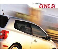 2003 03 Honda Civic Si  original sales brochure Mint