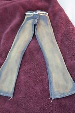 """Cute Blue Jeans for Sd sized doll, never tried on a doll, 14"""" from waist to hem"""