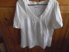 weißes Shirt von Sheego Gr. 42/44