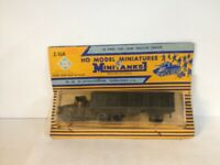 Roco H0 Model Miniatures. US Army Fuel Tank Tractor Trailer. Z-168