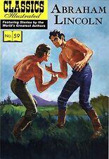 Classics Illustrated #59: Abraham Lincoln - Mint Cond. UK Import CCS Books
