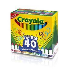 Crayola The Big 40 Washable Markers (cyo-587858) (cyo587858)