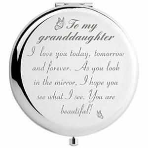 Granddaughter Gifts from Grandma and Grandpa to My Granddaughter Makeup Mirro...