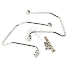 Motorbike Saddlebag Support Brackets For Harley Dyna FXD FXDB FXDC FXDL 06-13 12