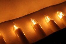 Alte DDR Narva Lichterkette 10tlg Christbaumbeleuchtung Kerzen Weihnachtsbaum