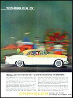 1955 Chrysler 2 door car family driving automobile vintage photo print Ad  ads9