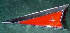 1975 PONTIAC CATALINA NOS GRILLE EMBLEM P8 GM TRIM