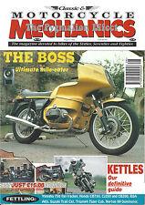 Classic & Motorcycle Mechanics #106 BMW R100RS GT750J Suzuki GT750 Kettle GT750B
