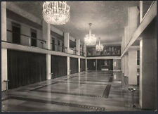 cartolina MILANO teatro di via manzoni-l'atrio