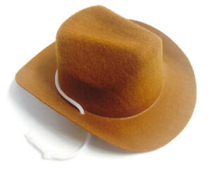 Tan Western Cowboy Hat Accessories fits 18 inch American Girl Doll Clothes