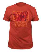 Jefferson Airplane-Classic 60's Group Image-XXL Heather Red Lightweight  T-shirt