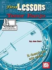 First Lessons Beginner Tenor Banjo Book New