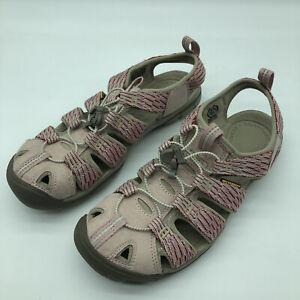 Keen Women Shoe Sandal Hiking Clearwater CNX Size 9 Waterproof Pink Red Sport