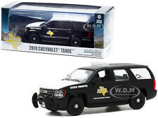 "2010 CHEVROLET TAHOE BLACK ""TEXAS HIGHWAY PATROL"" 1/43 DIECAST GREENLIGHT 86184"