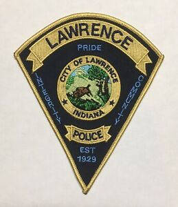 Lawrence Indiana Police Patch Marion County Ind. Live PD