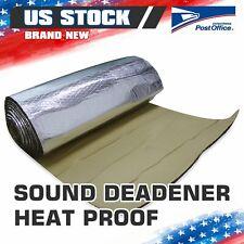 Heat Shield Insulation Sound Deadener Car Deadening Materials Mat 120x20
