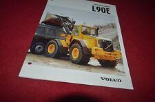 Volvo L90E Wheel Loader Dealer's Brochure Dcpa6