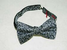 Alfani Men's Classic Adjustable Bow Tie 100% Polyester Black NWOT One Size