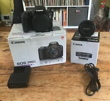 Canon EOS Rebel SL2 200D 24.2 MP Body w/ EF-S 24mm f/2.8 STM Wide Angle Lens