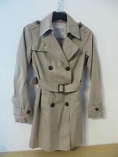 ESPRIT # toller MANTEL Gr. 38 beige Baumwolle Damen Mode Kleidung Damenmantel