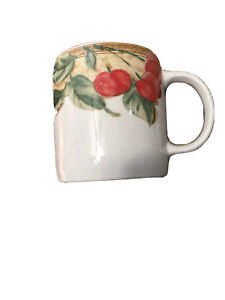 Gibson Everyday Designs Cherry Ivy Coffee Tea Mug Shows No Wear Excellent