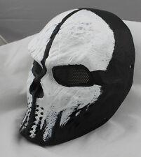 COOL Fiberglass Resin Mesh Eye Airsoft Paintball Full Face Protection Mask 6314