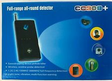 Full Range Camera and Bug Detector - Detects Wired / Wireless Cameras & Bugs NIB