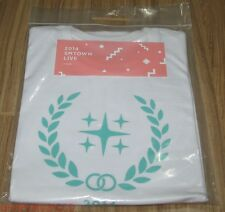SHINEE 2014 SMTOWN SM TOWN LIVE OFFICIAL GOODS LOGO T-SHIRT SEALED