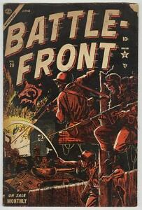 Battle-Front #20 June 1954 VG- Hitler story