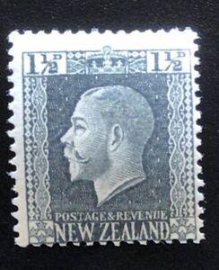 New Zealand Stamp 1915 KGV Recess Print 1 1/2d Grey - UHM
