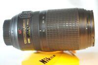 Nikon ED AF-S Nikkor 70-300mm f/4.5-5.6 G VR FX lens works but has issues READ