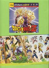 DBZ(DRAGON BALL Z)  livret 12 pages + sickers(autocollants)MFG 2009 format 13x13