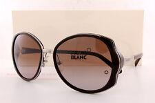 Montblanc Women's Mb416s Metal Sunglasses Brown 58