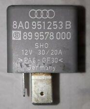 Relais 208 Sicherung Org. Audi A4 B5 8A0951253B SHO 899578000 12V 30/20A