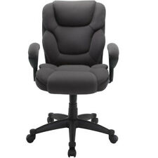 Manager Chair Computer Office Desk High Back Serta Gray Mesh Fabric Big And Tall