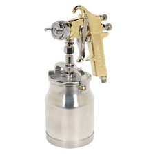 S701 Sealey Spray Gun Professional Suction Feed 1.8mm Set-Up