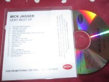 Mick Jagger ‎– The Very Best Of Mick Jagger Label: Rhino Records PROMO CD Album