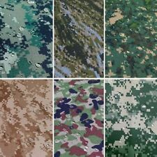 "CORDURA 1000D NYLON WATERPROOF OUTDOOR MILITARY CAMOUFLAGE AUTO SEAT FABRIC 60""W"
