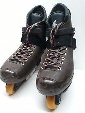 Vintage Rollerblade Chocolates Inline Skates Roller Blades Men's 12 Us 46 Europe