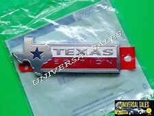 TEXAS EDITION FORD F-350 EMBLEM BADGE NAMEPLATE TAILGATE 15 16 17 OEM NEW IN BAG