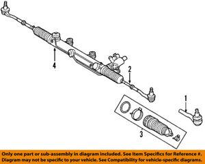 Mercedes MERCEDES-BENZ OEM 00-06 S500 Steering Gear-Inner Tie Rod End 2303380015