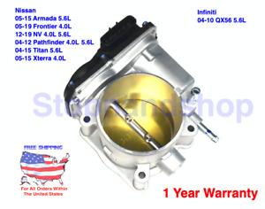 CHAMBER ASSY THROTTLE BODY for Nissan Infiniti 4.0L VQ40DE 5.6L VK56DE Engine