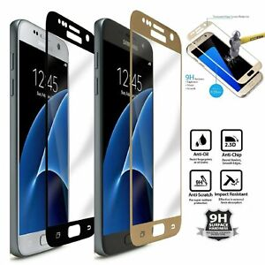 Premium Full Cover Tempered Glass For Samsung Galaxy S7 Screen Protector