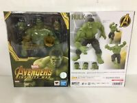 ORIGINAL Bandai S.H.Figuarts Marvel Legends Avengers Infinity War Hulk US SELLER