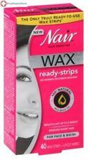 HM Nair Wax Ready-Strips Face 40 Ct