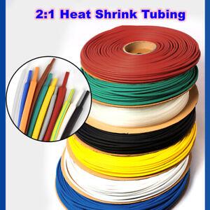 Heat Shrink 2:1 Heatshrink Tubing 1 - 50mm Electrical Sleeving Cable / Wire Tube