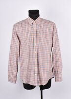 Gant Heather Popelina Corte Normal Hombre Camisa Talla XL