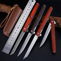 Knife Damascus Tactical Steel Hunting Handmade Blade Survival Outdoor Tool Nife