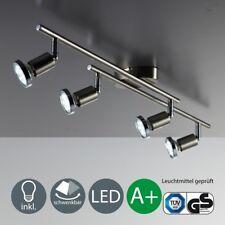 Decken-Lampe Leuchte LED Deckenleuchte Wohnzimmer schwenkbar 4-flammig B.K.Licht